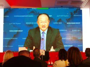Kuva: Maailmanpankin pääjohtaja Jim Yong Kim kertoi, miten hänen instituutionsa on ottanut kovemman linjan luoton myöntämiseen homovastaisille maille.